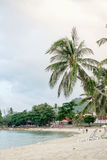 Chaweng beach landscape Royalty Free Stock Images