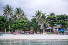 Chaweng beach landscape Royalty Free Stock Image