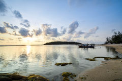 Chaweng Beach at Samui in Thailand Royalty Free Stock Photos