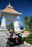 chaweng koh samui Thailand punkt widzenia Obraz Royalty Free