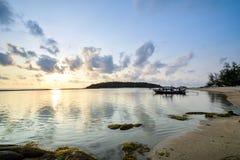 Chaweng plaża przy Samui w Tajlandia Zdjęcia Royalty Free