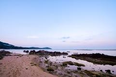 Chaweng-Strand bei Samui in Thailand Lizenzfreies Stockfoto