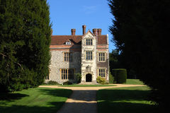 Chawton House, Hampshire. The historic Chawton House in the Hampshire village of Chawton.  The author Jane Austen used to live in the village and would have been Stock Image