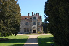 Chawton Manor, Chawton, Hampshire. The historic Chawton Manor house in the Hampshire village of Chawton.  The author Jane Austen lived in Chawton for many years Royalty Free Stock Photography