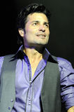 Chayanne performing live. Stock Photography
