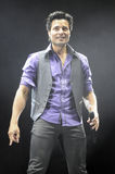 Chayanne performing live. Stock Images