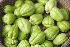 Chayote Stock Photo