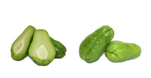 Chayote chokos Stock Photo