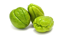 Chayote fruits Royalty Free Stock Images