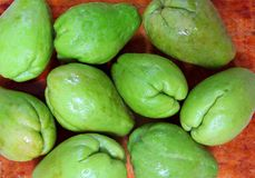 Chayote mango squash mirliton vegetable Royalty Free Stock Images