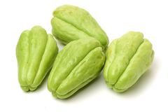 Chayote is a member of the squash, i buy from suppermaket royalty free stock photography