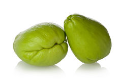 Chayote Squash (Sechium edule) Stock Photos