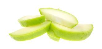 Chayote squash slices Stock Photo