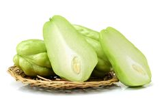 Chayote  vegetable Royalty Free Stock Images