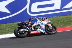 Chaz Davies - Aprilia RSV4 - ParkinGO MTC Racing Royalty Free Stock Images