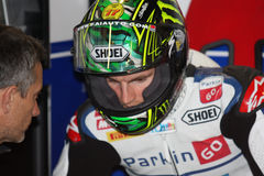 Chaz Davies - Aprilia RSV4 - ParkinGO MTC Racing Stock Images