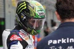 Chaz Davies - Aprilia RSV4 - ParkinGO MTC Racing Royalty Free Stock Images