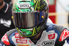 Chaz Davies - Aprilia RSV4 - ParkinGO MTC Racing Royalty Free Stock Photo