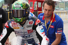 Chaz Davies - Aprilia RSV4 - ParkinGO MTC Racing Stock Photo