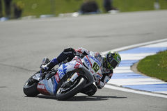 Chaz davies on the aprilia, WSBK 2012 Stock Photography