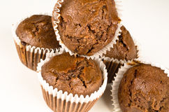 Chbocolate muffins Royalty Free Stock Photo