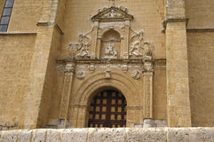 Chch of Mota del Marques, Valladolid province Royalty Free Stock Images