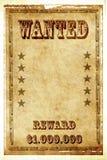 chcieć plakatowy rocznik Fotografia Royalty Free
