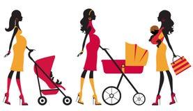 Chcik motherhood Stock Image