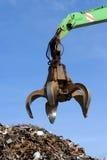 chciwa rozsypiska hydrauliczny metal hydrauliczny Obraz Royalty Free