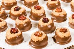 Chcolate арахисового масла окунуло конфету Стоковое Изображение RF