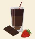 Chcolate design Arkivbilder