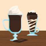 Chcolate design Stock Photography