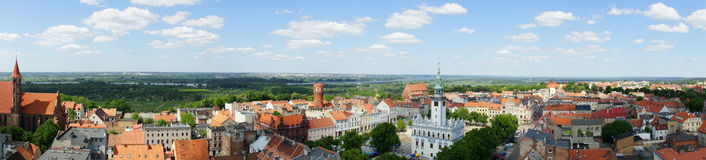 Che�mno in Poland Royalty Free Stock Photos