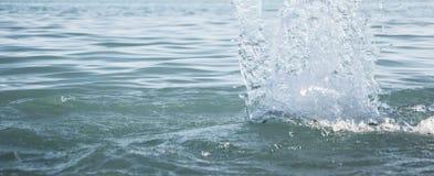 chełbotanie denna woda zdjęcie royalty free