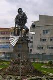 Che纪念碑在拉巴斯市,玻利维亚 免版税库存照片
