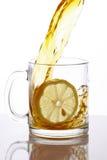 chełbotanie herbata Zdjęcia Stock