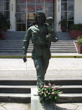 Che and child statue in Santa Clara, Cuba Stock Photography