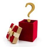 Che cosa da dare per un presente Immagini Stock