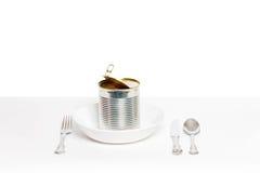 Che cosa da mangiare oggi Fotografia Stock