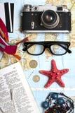 Che cosa da prendere per un viaggio Fotografia Stock Libera da Diritti