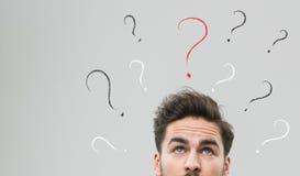 Che cosa dovrei fare? Immagini Stock Libere da Diritti