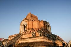 che di luang废墟stupa wat 库存照片