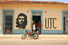 Che Guevara ścienny obraz zdjęcia stock