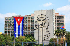 Che Guevara au Cuba Photo stock