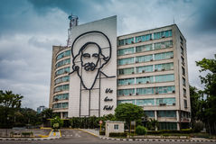 Che Guevara Building - Havana, Cuba Royalty Free Stock Photo