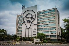 Che Guevara Building - Havana, Kuba Lizenzfreies Stockfoto