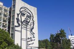 Che Guevara en plaza de la revolucion Foto de archivo