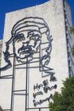 Che Guevara en plaza de la revolucion Foto de archivo libre de regalías
