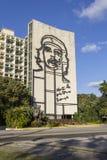 Che Guevara en una pared imágenes de archivo libres de regalías