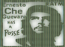 Che Guevara ilustracja Obraz Royalty Free